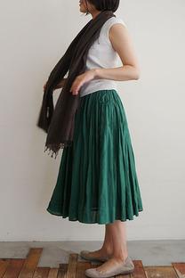 Khadi cotton circular skirt